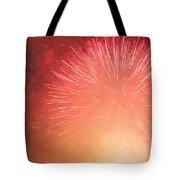 Fireburst Tote Bag