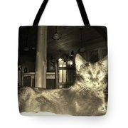 Firece Cat Tote Bag