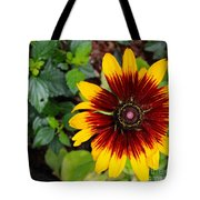 Firecracker Sunflower Tote Bag