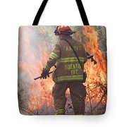Firefighter 967 Tote Bag