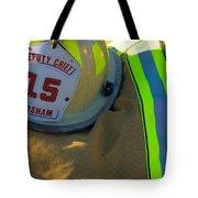 Firefighter Still Life Tote Bag