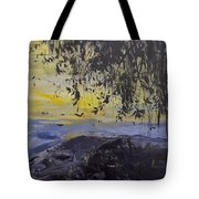 Fireflies Nocturne Tote Bag