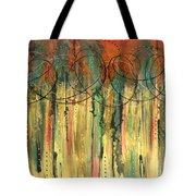 Firefly's Dance Tote Bag