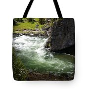 Firehole Canyon 1 Tote Bag