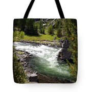 Firehole Canyon 2 Tote Bag