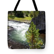 Firehole Fin Tote Bag