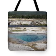 Firehole River And Pool Tote Bag