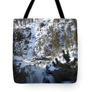 Firehole River Falls Tote Bag