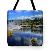 Firehole River Yellowstone Tote Bag