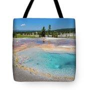 Firehole Spring Geyser Tote Bag