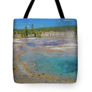 Firehole Spring Tote Bag