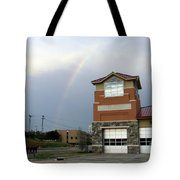 Firehouse Ranibow Tote Bag