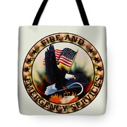 Fireman - Fire And Emergency Services Seal Tote Bag