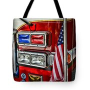 Fireman - Fire Truck Tote Bag