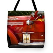 Fireman - Garwood Fire Dept Tote Bag by Mike Savad