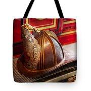 Fireman - Hat - Commander  Tote Bag