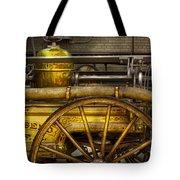 Fireman - Piano Engine - 1855  Tote Bag by Mike Savad