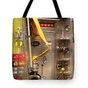 Fireman - Station - 36-3 Tote Bag