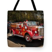 Fireman - The Procession  Tote Bag by Mike Savad