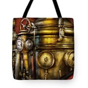 Fireman - The Steam Boiler  Tote Bag
