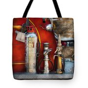 Fireman - An Assortment Of Nozzles Tote Bag