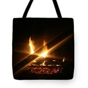 Fireplace Tote Bag