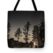 Fireplace Under The Stars Tote Bag