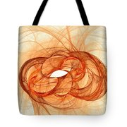 Fires Of Fusion Tote Bag