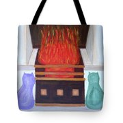 Fireside With You Tote Bag