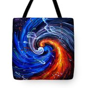 Firestorm Dancing With The Wind  Tote Bag