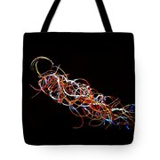 Fireweed Abstract  Tote Bag