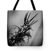Fireweed Bw Tote Bag