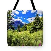 Fireweed, Deer Park Creek, Grand Turk Mountain Tote Bag