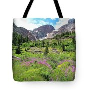 Fireweed Frenzy Tote Bag
