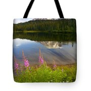 Fireweed Reflections Tote Bag