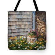 Firewood Shed					 Tote Bag