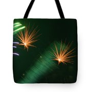 Firework Abstract Tote Bag