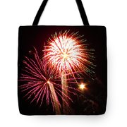 Firework Bouquet Tote Bag