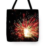 Firework Christmas Sparkle Tote Bag