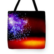 Firework Fallout Tote Bag