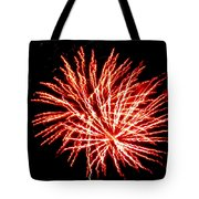 Firework Fireball Tote Bag
