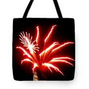 Firework Hibiscus Tote Bag