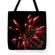Firework Lights Of The City Tote Bag