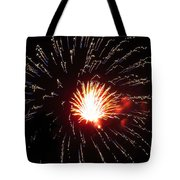 Firework Matchlight Tote Bag