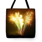 Fireworks 2 Tote Bag by Oliver Johnston