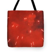 Fireworks A Different Persoective One Tote Bag