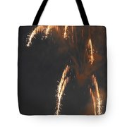 Fireworks A Different Perspective Four Tote Bag