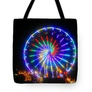 Fireworks At The Fair Tote Bag