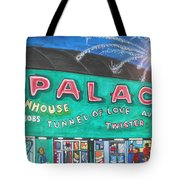 Fireworks At The Palace Tote Bag