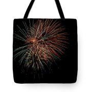 Fireworks Tote Bag by Christopher Holmes